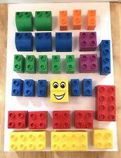 vintage LEGO QUATRO 31 building blocks construction JOBLOT 0.5KG+ Playgroup Toys