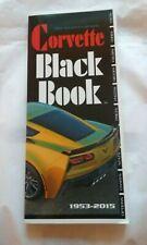 Corvette Black Book 1953-2015 by Mike Antonick