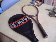 Head Composite Edge Graphite Tennis Racquet w 4 1/2L Leather Grip and Cover