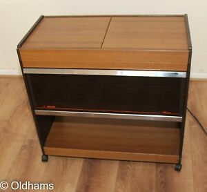 Vintage Phillips Hostess Trolley - With all Glass Dishes and Lids