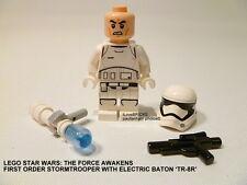 LEGO STAR WARS FIRST ORDER STORMTROOPER MINIFIGURE + BATON 'TR-8R'  #75139 NEW