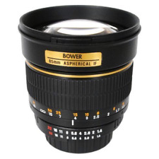 Bower 85 mm F/1.4 Portrait Lens For Canon DSLR Camera