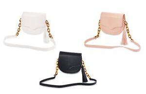 Mud Pie Bailey TASSEL Crossbody Shoulder Purse// Clutch Bag Handbag