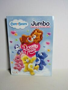 Care Bear and COUSINS Coloring Book with Activities - New - HTF - Jumbo