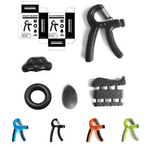 5 Stück / Set Handtrainer Unterarmtrainer Fingerhantel Krafttraining Verstellbar