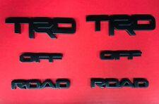 4 Runner 2017-2018 TRD OFF ROAD Black overlay kit 00016-89707