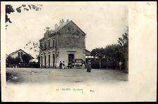 cpa Nuits St-Georges . La Gare . calèche