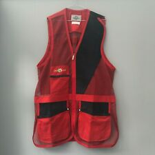 Castellani shooting vest - Left Handed - VARIOUS SIZES - Red
