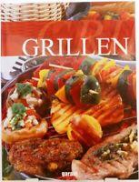 GRILLEN + Kochbuch + Tolle Rezepte mit Fleisch Fisch Gemüse + Marinaden uvm.(12)