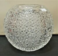 American Brilliant Cut Crystal Oil Lamp Shade