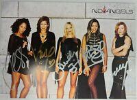 No Angels ## ORGINAL HANDSIGN. AUTOGRAMM ## mit allen 5 Bandmitgliedern ## RAR
