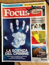 RIVISTA FOCUS SCOPRIRE E CAPIRE IL MONDO n. 275 Settembre 2015