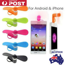 Portable Mobile phone mini USB fan for iPhone and android with multi plug