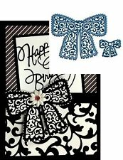 Tattered Lace Dies Chantilly Bows cutting die set D172 All Occasion ribbon bow