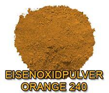 Pulver Orange Eisenoxid Beton Farbe Pigmente Pigment Farbpulver 10kg