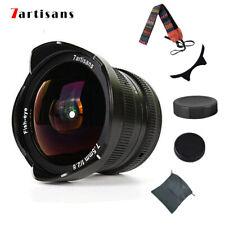 7artisans 7.5mm F/2.8 Fisheye Lens Panasonic Olympus Micro M4/3 Mount G6 G7 EP-5