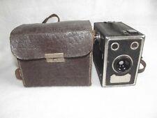 Alter Fotoapparat - Balda - Rollbox mit Originaltasche aus Leder