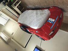 Boys- Italia Turbo Series-Red Racer Car Bed for kids with Roadster Mattress