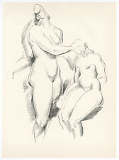 "Alexander Archipenko original lithograph ""Figure Study"""