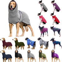 Dog Puppy Winter Pullover Costume Coat Casual Clothes Pet Apparel Sweater Jacket