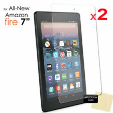 "2x CLEAR Screen Protector Covers for Amazon Fire 7"" 9th Generation 2019 Tablet"