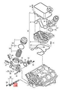Genuine AUDI VW A4 Allroad Quattro Avant S4 Thermostat 059115201B