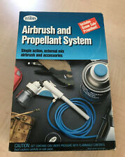 Testors airbrush and propellant system