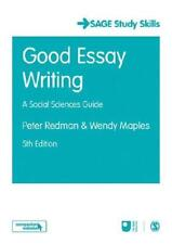 Good Health Essay Good Essay Writing By Peter Redman Wendy Maples Open University  Associated Writing High School Essays also College English Essay Topics Open University Essays  Ebay Sample Essay Thesis