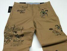 Polo Ralph Lauren Vtg Retro English Comics Rugby Football Varsity Chino Pants