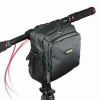 RHINOWALK 4L Bicycle Handlebar Bag Full Waterproof Folding Bike Front Bag E H5P7