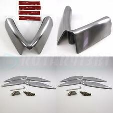 MAZDA RX-8 POLISHED ALUMINUM FENDER STRAKES 4pcs & FRONT ACCENT SET 04-09 ONLY!