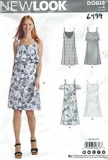 New Look 6499 Misses' Dresses 8 to 18     Sewing Pattern