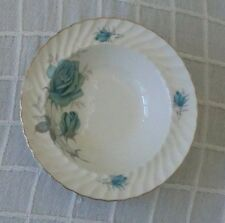 "Royal Wessex Ironstone by Swinnertons Sweet Bowl Pale Blue Rose 6 1/4""dia x 154g"
