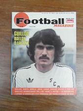 FOOTBALL MAGAZINE No 183 (1975) GUILLOU LARQUE BERETA MONACO HELLSTROEM VAUBAN