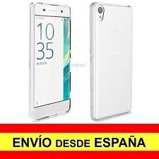 Funda Silicona para SONY XPERIA E5 Carcasa Transparente ¡España! a2655