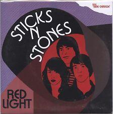 "STICKS and STONES 'Red Light 7"" NEW Catholic Boys tears ty segall tuff bananas"