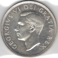 TMM* 1949 Silver Dollar Canada George VI Unc/prooflike fields