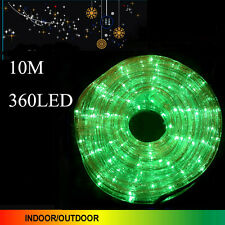 10m 360 LED Multi Color Rope Lights 3 Wire With 8 Function Controller
