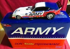 """DON """"THE SNAKE"""" PRUDHOMME, 1/24 ACTION 1978 ARROW FUNNY CAR, ARMY"""