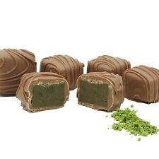 Philadelphia Candies Japanese Matcha Green Tea Meltaway Truffles, Milk Chocolate