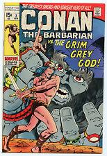 Conan #3 VF Roy Thomas, Barry Smith, Sal Buscema Feb 1971