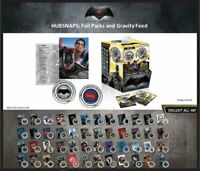 BATMAN Vs SUPERMAN Dawn of Justice HUBSNAPS 2 per Pack! Collect all 48!  NECA