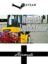 Magazzino e logistica Simulatore (+ Hell's Warehouse DLC) Chiave a vapore PC Windows