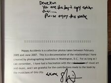HAPPY ACCIDENTS BY SHERVIN LAINEZ INSCRIBED  1ST IN DJ