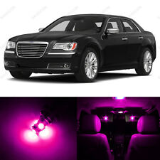 13 x Pink/Purple LED Interior Light Package For 2011- 2014 Chrysler 300 300C