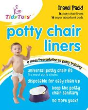 Tidy Tots - Potty Liners & Super Absorbent Pads! - 16 Pack - Ideal for Training