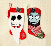 NWT Disney Nightmare Before Christmas Jack And Sally Christmas Stockings