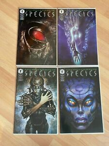 Species 1-4 (4 Books) High Grade Comic Book - B53-15