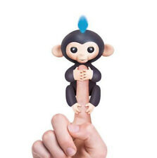 Fingerlings Interactive Finger Baby Monkey Toy WowWee Gift Fingerling Black Finn
