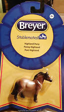Breyer Horse Models Stablemate Dun Highland Pony